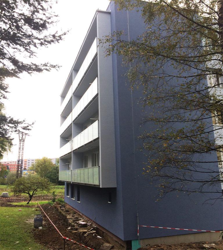 Zateplení panelového domu Jablunkov